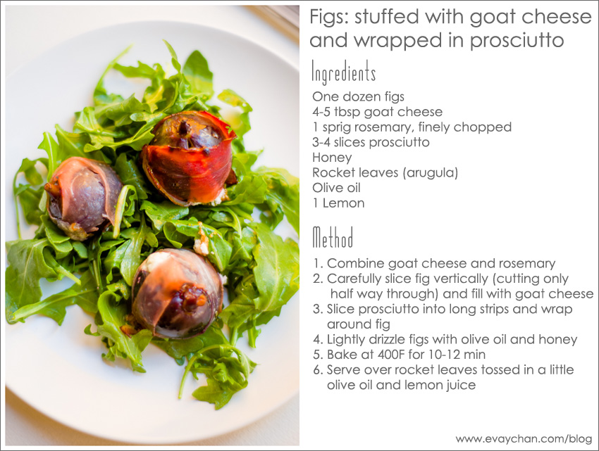 Figs Stuffed With Goat Cheese Recipe — Dishmaps